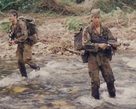 3 PARA Patrols Platoon Belize, 1988.