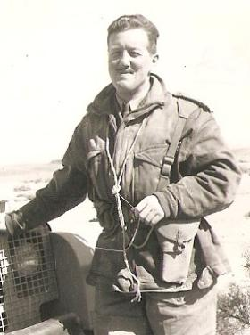 Major Bernard Ridings, undated.