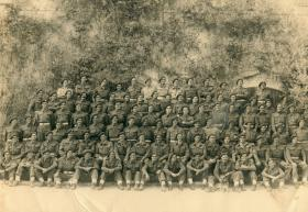 Members of 16 PFA with 1st Para Sqn RE at Taranto, Italy 1943