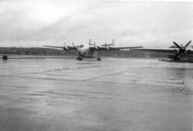 Blackburn Beverley at RAF Abingdon 1960s
