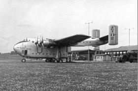 Blackburn Beverly registration XH122, air drop trials, 1959.