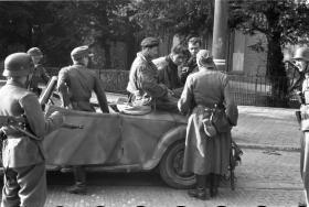 Major John Timothy shortly after being taken prisoner of war, 19 September 1944