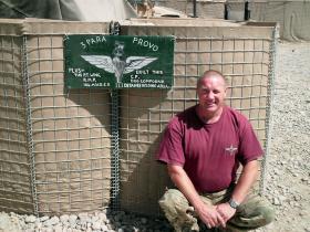 Provost Sgt McGrail, 3 PARA, Op Herrick XIII, Afghanistan.