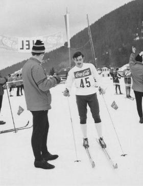 Bill Bentley Army Skiing Championships 1975