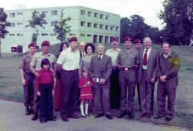 Bill Surman's retirement after 31 years at Depot both serving and civilian, August 1979.