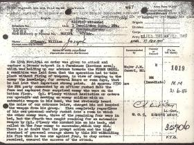MM Citation for William J O'Leary