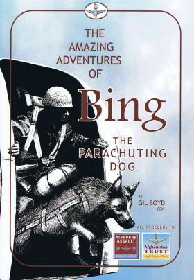 """Book Cover for """"The Amazing Adventures of Bing"""""""
