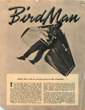 Article about Birdman from Royal Air Force Flying Review