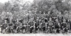 Medium Machine Gun Platoon, 3 PARA, Malaya, 1975.