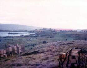 Blue Beach, Falkland Islands, 1982.