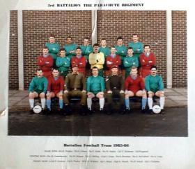 3 PARA, Battalion Football Team, 1985-86.