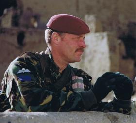 Sgt Bob Hilton, 2 PARA, Kabul, Afghanistan, 2002