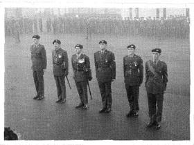 Members of 2 PARA who received gallantry awards following the tour of Borneo, 1965.