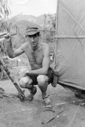 George Parry, 2 PARA, Borneo, 1965