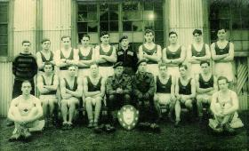 5th Para Bn Boxing Team, circa 1948, Germany