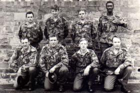 Members of 4 PARA, Brecon, date unknown.