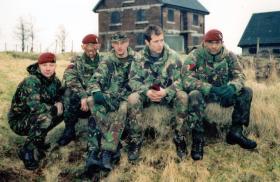 Members of 13 Air Assault Support Regiment RLC, Brecon, 2000.
