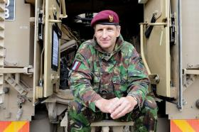 Brigadier James Chiswell, MC in 2010