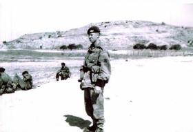 Pte Mercer, Cyprus, 1959.