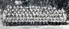 Brigade HQ, Ferry Point, Canal Zone, 1954.