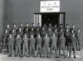 533 Platoon, Brize Norton, March 1988.