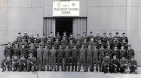 No 1 Parachute Training School RAF Brize Norton,  1984.
