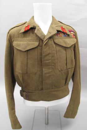 Battle Dress Jacket of Lt Gen Browning from the Airborne Assault Museum Collection, Duxford, 2012.