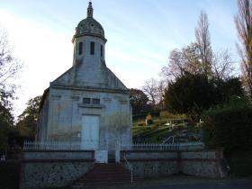 Brucourt Churchyard, October 2013.