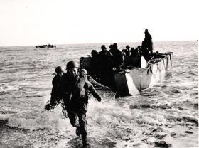 Practice landings from Assault Landing Craft for Bruneval, Feb 1942.