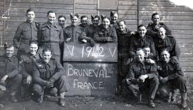 Members of 181 Airlanding Field Ambulance after Bruneval, 1942.