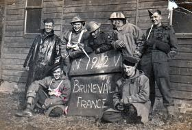 Members of 181 AL Fd Amb at Bulford, 1942