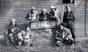 Members of 181 Airlanding Field Ambulance at Bulford, 1942.