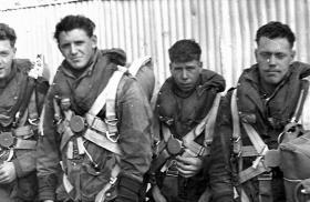 Members of B Company, 2 PARA, c1958.