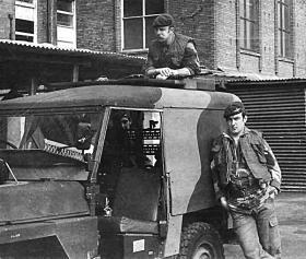 Members of Special Patrol group, Belfast 1975.