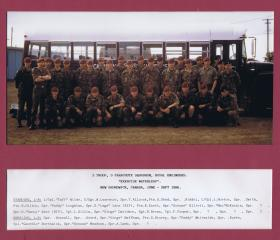3 Troop, 9 Parachute Squadron, Royal Engineers, Exercise Waterleap, New Brunswick, Canada, 1986.