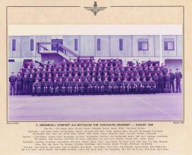 C (Bruneval) Company, 2 PARA, August 1984.