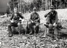 Members of C Company, 2 PARA, Borneo, 1965.