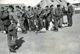 Members of C Coy, 2 PARA, Jordan, 1958.