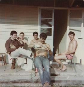 Members of C Coy 2 PARA Malaya 1975