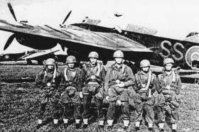 Members C Coy, 7th (LI) Para Bn, May 1943.