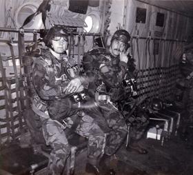 Russ Bishop and Ian Taylor, Patrols C Coy, 2 PARA, 1980.