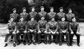 'C' Mess, 1st Airborne Divisional Headquarters. Fulbeck Hall, Lincolnshire, July 1944.