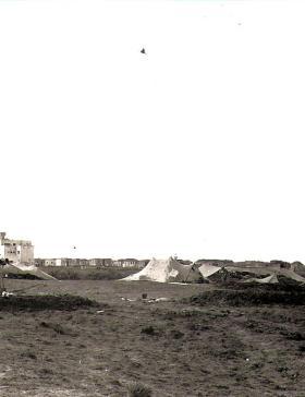 C Troop Gun Positions El Cap Suez 1956