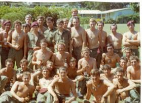 Members of 4 PARA in Kingston, Jamaica, 1972