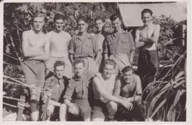 Members of A Company, 8th Parachute Battalion - 154 Camp North of Haifa c 1947