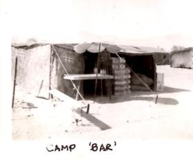 The Bar, Camp H Cyprus
