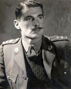 Capt Midwood, Reconnaissance Corps, 1942.