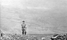 "Cfn Carrick Watson in Wales: ""They kept saying - back a bit - back a bit!"" c1958"