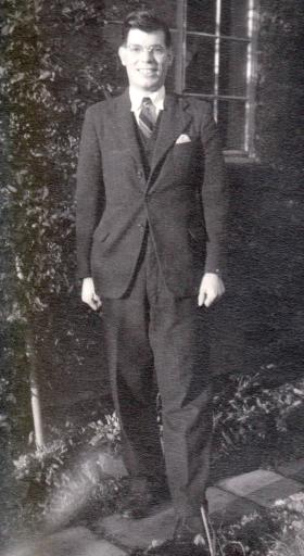 Charles Buckmaster in the 1950's.