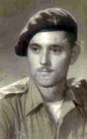 Pte Charles Taylor, date unknown.